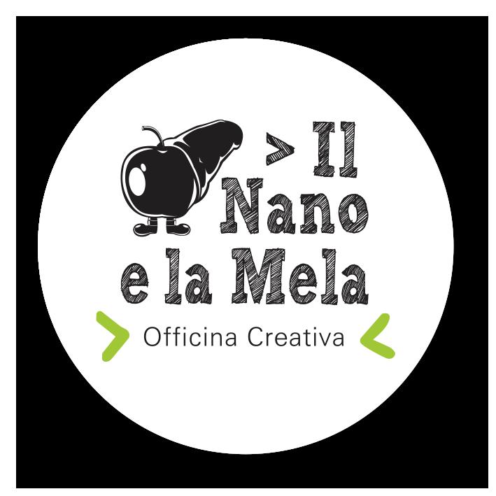 logo agenzia comunicazione il nano e la mela